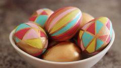 Как сделать яйца-калейдоскоп