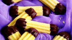 """Печенье """"Шоколадные хвостики"""""""