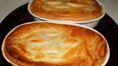 Пирог с брынзой и фаршем