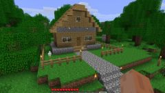How to make in Minecraft beautiful house