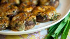 Как приготовить грибы на гриле