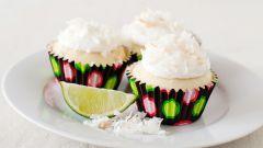 Как приготовить кексы с кокосом и лаймом