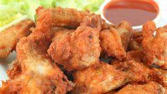 Как приготовить жареные куриные крылышки по-китайски