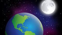 What is the distance between the earth and the Moon