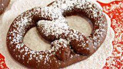 Как приготовить шоколадные крендели