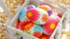 Несколько вариантов украшения яиц на Пасху