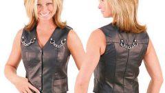 Как и с чем носить кожаные жилетки