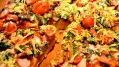 Как приготовить пиццу: майонезное тесто