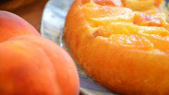 Как приготовить персиковый пирог