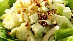 Салат «Уолдорф» (Вальдорфский салат)
