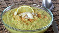 Суп-пюре из авокадо и морковки