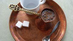 Как приготовить молотый кофе в турке