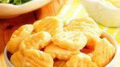 Сырные ньокки