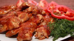 Цыпленок в пряном томатном соусе