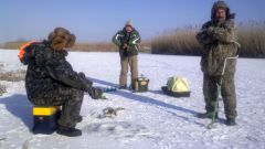 Какую рыбу ловят в январе?