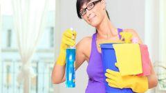 Как расходовать моющие средства при уборке квартиры