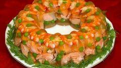 Как приготовить заливное из семги с креветками