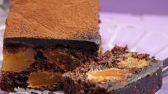 Как приготовить пирожные с курагой