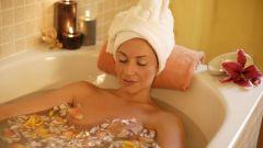 Как принять расслабляющую ванну