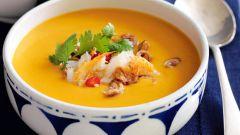 Французский тыквенный суп