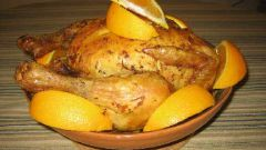Цыпленок по-бургунски