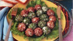 Как приготовить сырные шарики с кунжутом и зеленью