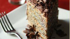 Как приготовить маковый торт с кремом из вареной сгущенки