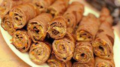 Как приготовить печеночные блинчики с начинкой