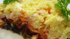 Салат с водорослями « Морская фантазия»