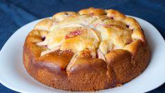 Как приготовить яблочно-медовый пирог