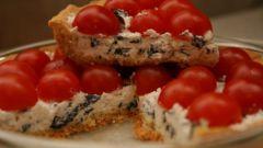 Как приготовить пирог с риккоттой и помидорами