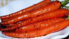 Глазированная морковь по-индийски