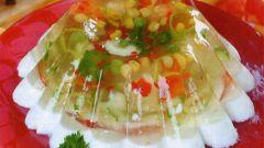 Овощное заливное