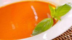 Французский суп-пюре из тыквы