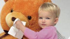 Как быстро избавиться от детского насморка