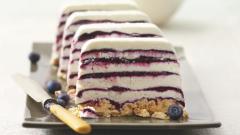 Как приготовить творожно-черничный торт