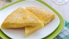 Как приготовить сырный пирог из творожного теста