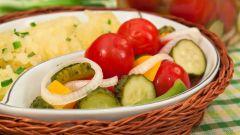 Как замариновать овощи на скорую руку