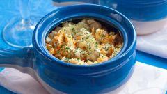 Рыба с картофелем в горшочке