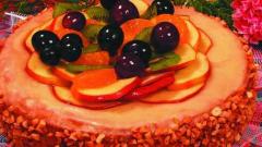 Торт «Мир фруктов»