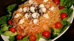 Как сделать салат «Солнечный круг»