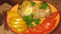 Как приготовить котлеты, фаршированные перепелиными яйцами
