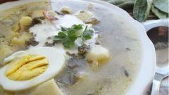 Готовим полезный щавелевый суп