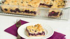Как приготовить пирог с творогом и ягодами