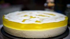 Как приготовить лимонно-желейный торт