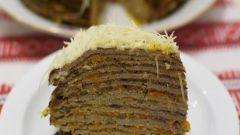 Как приготовить вкусный печеночный торт