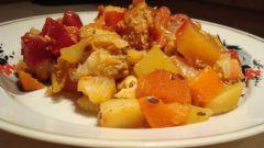 Как приготовить овощное рагу с говядиной