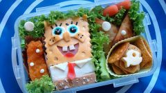 Бэнто – японский обед в необычном исполнении