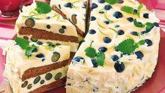 Как приготовить смородино-шоколадный бисквитный торт