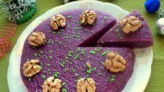 Виноградный грузинский десерт пеламуша